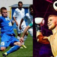 S-a visat fotbalist, dar a ajuns în ringul de lupte! Daniel Bolfă, între minge și mănuși!
