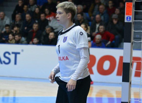 """Daciana Hossu, bistrițeanca ce ne-a luat un punct: """"A fost o plăcere pentru mine să joc acasă"""" Vezi faza meciului!"""