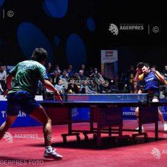 Înfrângere la tenis de masă: Crișan și Hunor Szocs pierd cu naționala României în fața Sloveniei!