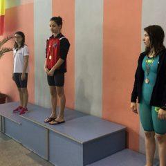 Înot: Trei medalii pentru CS Tibi la etapa regională a campionatului național