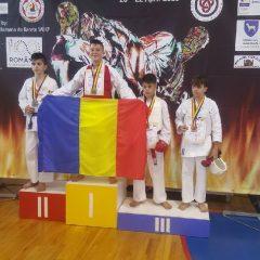 FOTO: Karatele au viitor în Bistrița-Năsăud! Shotokan Dojo Năsăud, medalii la Campionatul Balcanic
