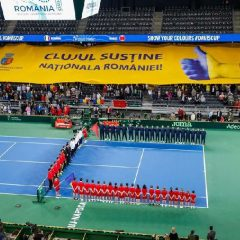 ROMÂNIA – MAROC :5-0 ! Clujul e cu noroc pentru tenisul românesc!