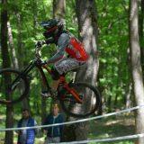 FOTO/ VIDEO: Bicicliștii zburători au făcut spectacol în Pădurea Codrișor! Paul Someșan, cel mai bun dintre bistrițeni!