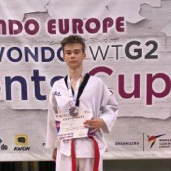 Taekwondo: Mihai Bura, bronz la Atena, într-o competiție europeană cu peste 2500 de participanți!