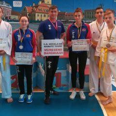 Karate Tiger Prundu Bârgăului, 5 medalii la naționalele de minicadeți și cadeți