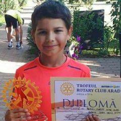 Tenis de câmp: Mihai Roșu – Mareș, locul 1 la Cupa Rotary – Arad