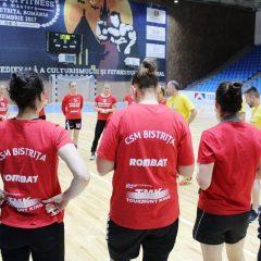 Locul 6, un pic mai bine ca anul trecut! CSM Bistrița, meci de vacanță la Brașov!