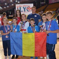 Taekwondo, CS Ilyo Bistrița: Șapte medalii la Bratislava Open Championship