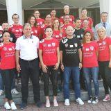 Echipa de handbal Gloria a fost prezentată oficial la Consiliul Județean