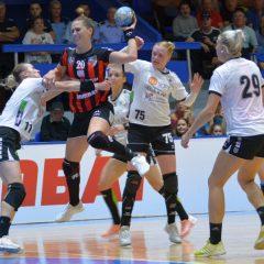 Handbal, VIDEO: Publicul merită primă întreagă! Gloria câștigă greu cu U Cluj, împinsă din spate de spectatori!