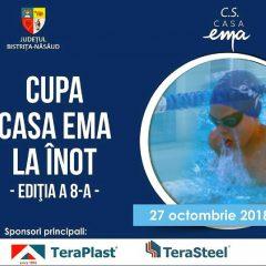 Sâmbătă este Cupa Casa EMA la înot, ediția a 8-a
