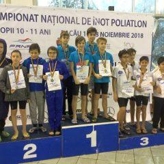 Înot: Alex Ilișuan – o medalie de argint și una de bronz cu ștafeta la Campionatul Național