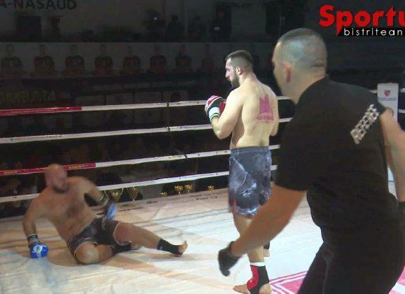 VIDEO, Mix Kombat 4: O stângă la ficat și una la cap! KO fără drept de apel în main eventul galei de la Bistrița!