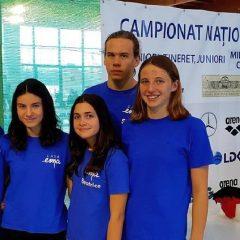 Înot: Rezultate remarcabile pentru sportivii Casei Ema la Campionatele Naționale