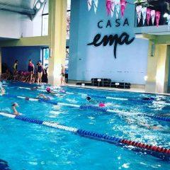Înot, Casa Ema: Peste 130 de copii s-au întrecut pentru Cupa Moș Nicolae