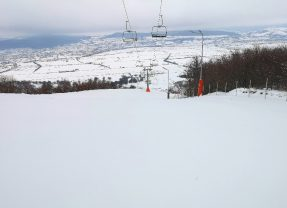 Penibil: Pe cod galben de zăpadă, pârtia e închisă!