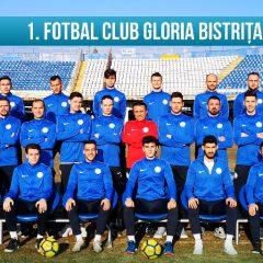 Fotbal, Liga a treia: Gloria începe returul! Vezi lotul! Meci greu la CFR 2!