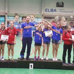 Tenis de masă: LPS Bistrița, campioană națională la junioare 3