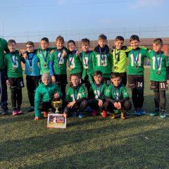 Fotbal, copii: Transilvania Bistrița câștigă Cupa Municipiului Reghin!