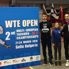 Taekwondo: Medalii pentru Ilyo Bistrița la un concurs tare în Bulgaria! Ana Luiza Bindea, noul copil de aur al clubului bistrițean