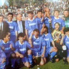 Au trecut 25 de ani! Totul despre cea mai mare performanță din istoria fotbalului bistrițean, câștigarea Cupei României!