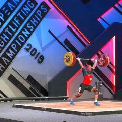 Haltere: Un sportiv de la CSM Bistrița, locul 5 la europenele de la Batumi