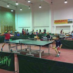 Tenis de masă: Patru medalii de aur pentru bistrițeni la Cupa Bistrița!