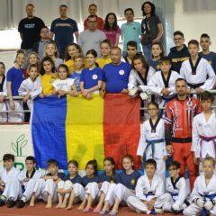 Taekwondo: Remarcabili la Bratislava! Bistrițenii de la Ilyo, 12 medalii într-un concurs cu 11 țări!