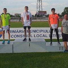 Atletism: Bistrițeni pe podium la naționalele de juniori 1!