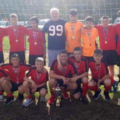 Fotbal: Bistrițeni pe podium la Dorna Junior Cup