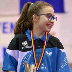 Tenis de masă: Bistrițeanca Ioana Sângeorzan, medalii la europenele pentru cadeți și juniori