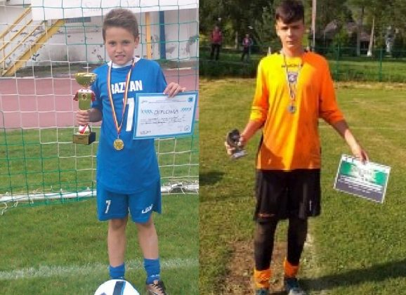 Fotbal: Doi bistrițeni, convocați la lotul Under 15