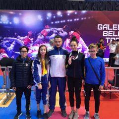 Taekwondo: Musteață, bronz la Belgrad! Alți 3 sportivi de la Ilyo Bistrița, aproape de podium!