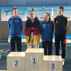 Taekwondo: Ionela Musteață, bronz la un campionat european!
