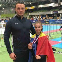 Taekwondo: Ana Luiza Bindea, bronz la Campionatul European de copii!