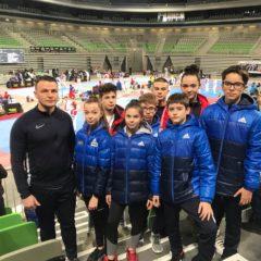 Taekwondo: Ana Riti și Ștefan Agrișan, medalii de bronz în Slovenia! Liana Musteață câștigă experiență la senioare!