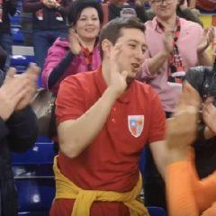 VIDEO: Civilizație și fair play la ERD! Maghiarii s-au comportat impecabil cu românii!
