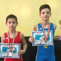 Lupte greco-romane: Hercules Bistrița, două medalii într-un concurs tare, la Brașov!
