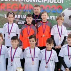 Fotbal, copii: Transilvania Bistrița, cu 8 echipe la Cupa Municipiului Reghin