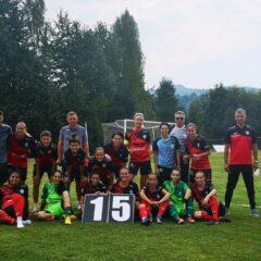 Fotbal feminin: Heniu Prundu Bârgăului, 15-0 în etapa a doua!