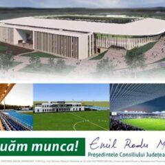 Cel mai important proiect sportiv din istoria județului se clădește chiar acum!