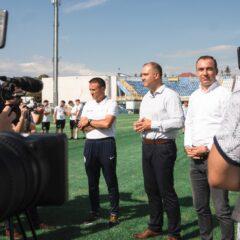 """Cristian Niculae: """"Bistrița va avea echipă de fotbal susținută de primărie!"""""""
