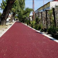 E aproape gata și pista de biciclete de pe strada Romană!