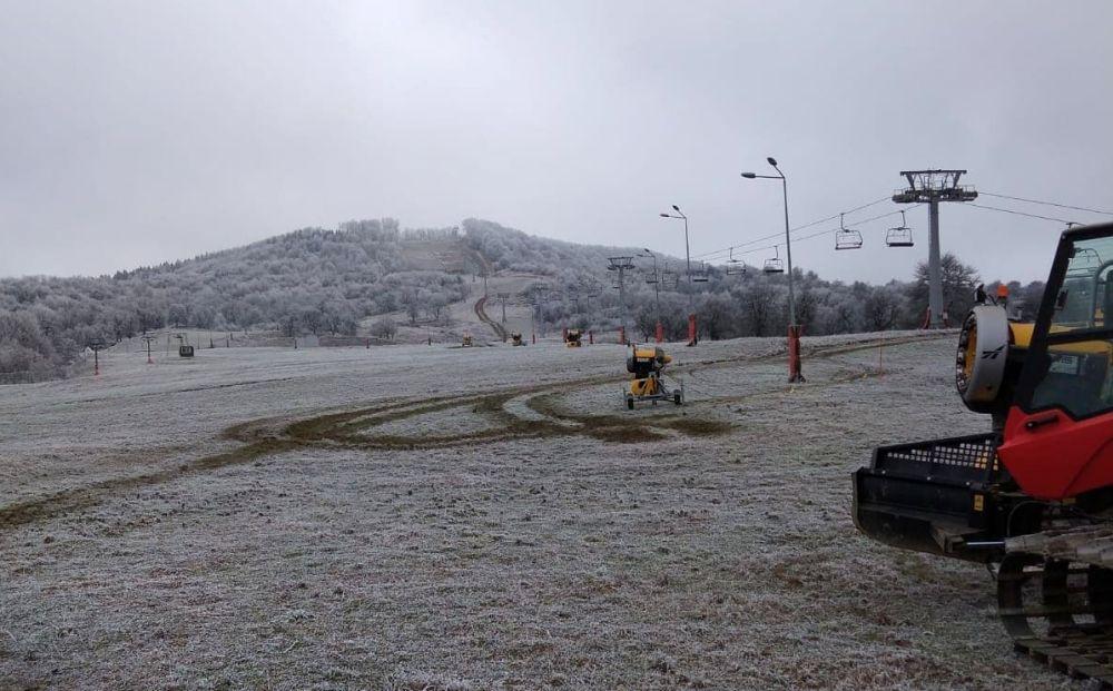 Pârtia a trecut cu bine toate testele! Să vină frigul și zăpada!
