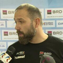 Handbal masculin: Naționala lui Fortuneanu, învinsă la 3 goluri în Suedia