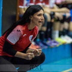 """Mihaela Evi e mulțumită de evoluția echipei de tineret în Divizia A: """"Să le dăm acestor fete voie să greșească"""""""