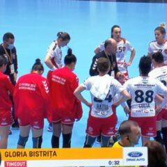 Handbal, Liga Florilor: De la egal la egal doar o repriză! Gloria n-a ținut ritmul cu CSM București!