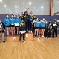 Tenis de masă: Rămînem tari și la juniori 2! CSM Bistrița, bronz pe echipe!