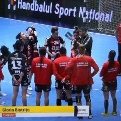 Handbal: Victorie de moral! Gloria bate o codașă la 3 goluri și se gândește la turneul de la Bistrița!