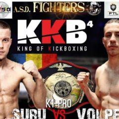 """K1: Bogdan Suru luptă pentru centura mondială! """"Sunt sigur că o aduc la Bistrița"""""""